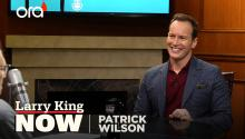 Patrick Wilson on 'Aquaman', comic books, & 'The Conjuring'