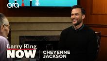 Cheyenne Jackson on 'American Horror Story', fatherhood, & getting sober
