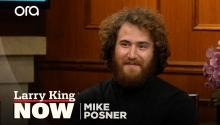"""It's calling to me"": Mike Posner explains why he's walking across America"