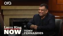AirAsia CEO Tony Fernandes on building the airline into multi-billion dollar brand