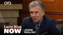 John Walsh firmly supports gun control