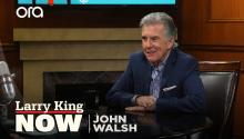 John Walsh on catching violent criminals, gun control, & coping with his son's murder