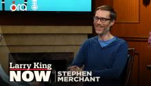Stephen Merchant on Dwayne Johnson, wrestling, & 'The Office' reboot