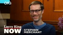 """My resume was the top one on the pile"": Stephen Merchant on meeting Ricky Gervais"