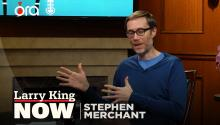 Stephen Merchant on why stand up comedy is 'stressful' for him