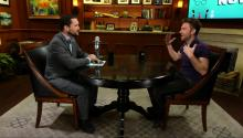 Chris Hardwick: Being Interview by Larry King is Like Being a Puppy on a Leash