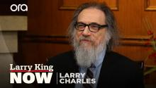 "Larry Charles thinks President Trump is a ""bad comedian"""