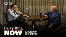 """We're supposed to bring people together"": Danny DeVito on why he supports Bernie Sanders"