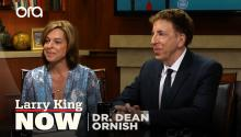 Dr. Dean Ornish on healthy lifestyles, plant-based diets, & Bill Clinton