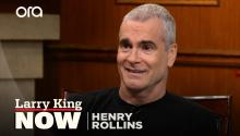 """It's not coming from the music"": Henry Rollins on how young people express their anger"
