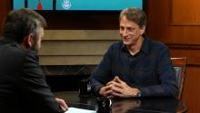 Tony Hawk on his successful skateboarding career, philanthropy, & video game culture
