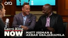 Matt Iseman & Akbar Gbajabiamila reveal their favorite 'American Ninja Warrior' competitors