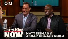 Matt Iseman & Akbar Gbajabiamila on 'American Ninja Warrior', inspiring competitors, & the gift of failure