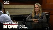 Chef Cat Cora on 'Family Food Fight', meeting Julia Child, & raising six boys