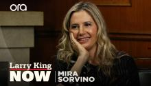 """My personal hero"": Mira Sorvino on how her faith in Jesus got her through hard times"