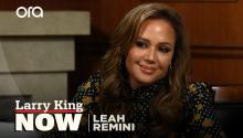 Leah Remini on Scientology, social media, & raising girls in Hollywood