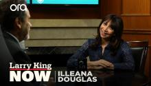 Illeana Douglas talks working with Billy Bob Thornton on season 3 of 'Goliath'