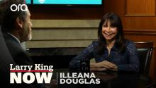 Illeana Douglas on 'Goliath', female filmmakers, & why she blames Dennis Hopper