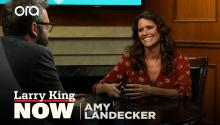 Amy Landecker talks 'Transparent' finale, 'The Handmaid's Tale', & women's rights