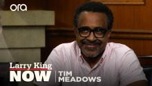 """I killed it"": Tim Meadows jokes about how he got the part on 'The Goldbergs'"
