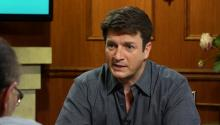 How Nathan Fillion learned to read from comic books