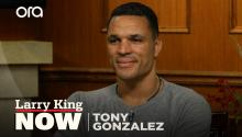 """I know people have stories to tell"": Tony Gonzalez on his new podcast 'Wide Open'"