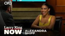Alexandra Shipp on 'Jexi', social media, & 'X-Men'