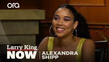 """You need that gratification"": Alexandra Shipp on our addiction to social media"