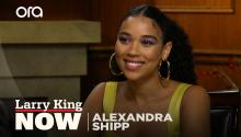 """Anxiety is within ourselves"": Alexandra Shipp on how our smartphones control our lives"