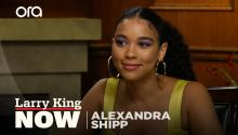 """It changed my life"": Alexandra Shipp on playing Storm in 'X-Men' franchise"