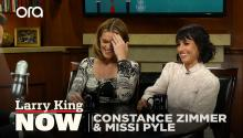 Motherhood, acting, and music - Missy Pyle & Constance Zimmer answer you questions