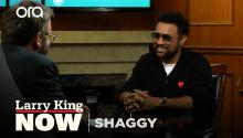 Shaggy on 'The Little Mermaid Live', Jamaican roots, & advice from James Brown
