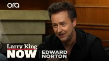 Edward Norton on 'Motherless Brooklyn', climate change, & acting styles