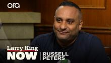"""My dad and I used to listen to him together"": Russell Peters on George Carlin's influence"