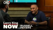 Comedian Russell Peters on 'Deported' world tour, Amazon Prime special, & fatherhood