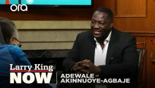 Adewale Akinnuoye-Agbaje on 'Farming', directing his life story, and 'Oz'