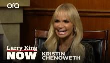 'Wicked' film, a song that describes her life, & her favorite role -- Kristin Chenoweth answers your social media questions