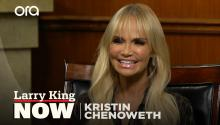 """My birth father was a major musician"": Kristin Chenoweth finds out where she got her incredible voice"