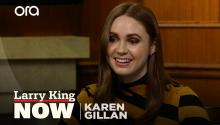 """They are emotionally satisfying"": Karen Gillan on the Marvel Universe"