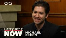 Michael Zegen on 'The Marvelous Mrs. Maisel', Jewish heritage, & David Letterman