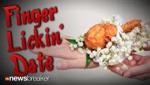 FINGER LICKIN' DATE: KFC Offers Chicken Corsages for Prom, Including $5 Gift Card to Buy the Fresh Breast