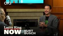 Kurt Busch on NASCAR, early racing days, & his Camaro ZL1