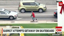 That Awkward Moment When You Try To Flee The Cops On A Skateboard But You Suck At Skateboard