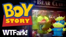 BOY STORY: Kid Escapes House, Walks To Bowling Alley Gets Stuck In Toy Claw Machine