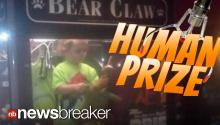 HUMAN PRIZE: Missing 3 Year Old Boy Found Inside Bowling Alley Claw Machine