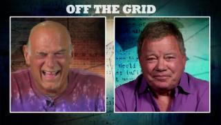 William Shatner Goes #OffTheGrid