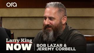 UFO truther Bob Lazar & filmmaker Jeremy Corbell